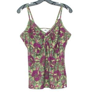 The North Face Tank Top Floral Built In Bra H1